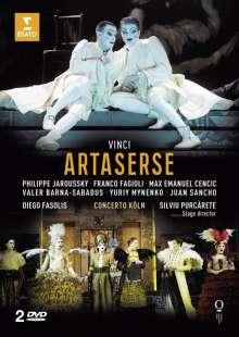 Leonardo Vinci (1690-1730): Artaserse, 2 DVDs