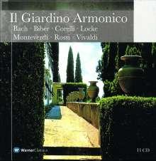 Il Giardino Armonico - Collection, 11 CDs
