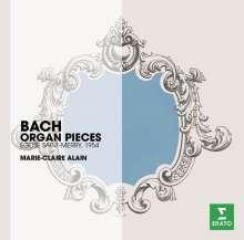Marie-Claire Alain - Orgelwerke von Bach, CD