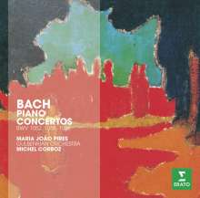 Johann Sebastian Bach (1685-1750): Klavierkonzerte BWV 1052,1055,1056, CD