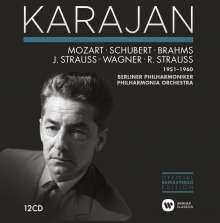 Herbert von Karajan Edition 5 - German Romantic Orchestral Recordings 1951-1960, 12 CDs
