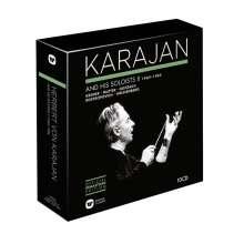 Herbert von Karajan Edition 7 - Karajan and his Soloists Vol.2 1969-1984, 10 CDs