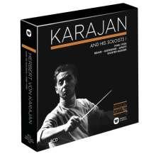 Herbert von Karajan Edition 3 - Karajan and his Soloists 1948-1958, 8 CDs