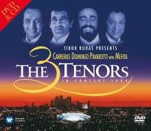 Carreras,Domingo,Pavarotti: The Three Tenors in Concert 1994, 1 DVD und 1 CD