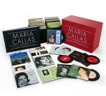 Maria Callas Remastered - Sämtliche Studioaufnahmen, 69 CDs