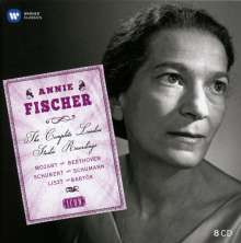 Annie Fischer - The Complete London Studio Recordings (Icon), 8 CDs