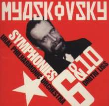 Nikolai Miaskowsky (1881-1950): Symphonien Nr.6 & 10, CD