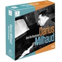 Darius Milhaud (1892-1974): Darius Milhaud Edition - Une Vie heureuse, 10 CDs
