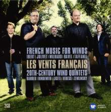 Les Vents Francais, 2 CDs