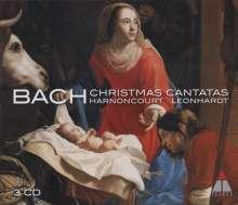 Johann Sebastian Bach (1685-1750): Kantaten BWV 40,57,63,64,91,110,121,133,151, 3 CDs