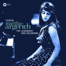 Martha Argerich - The Legendary Recording 1965 (180g), LP