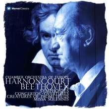Ludwig van Beethoven (1770-1827): Nikolaus Harnoncourt dirigiert Beethoven, 14 CDs