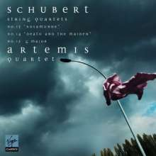 Schubert / Artemis Quartet: String Quartets, CD