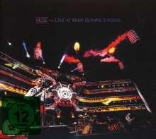 Muse: Live At Rome Olympic Stadium (CD + DVD), 1 CD und 1 DVD