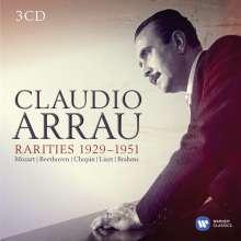 Claudio Arrau - Rarities 1929-1951, 3 CDs