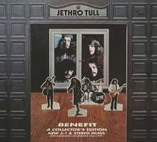 Jethro Tull: Benefit (New 5.1 & Stereo Mixes) (Collector's Edition) (2CD + DVD), 2 CDs und 1 DVD