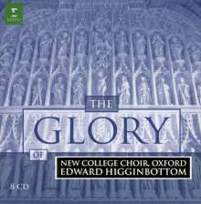 The Glory of New College Choir, Oxford, 8 CDs