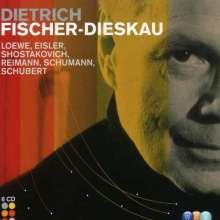 Dietrich Fischer-Dieskau - Lieder & Balladen, 6 CDs