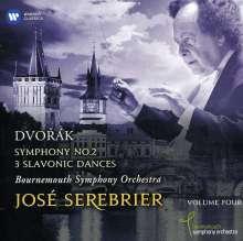 Antonin Dvorak (1841-1904): Symphonie Nr.2, 2 CDs