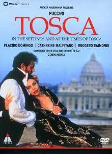 Giacomo Puccini (1858-1924): Tosca (TV-Produktion), DVD