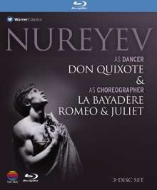 Nureyev - As Dancer & As Choreographer, 3 Blu-ray Discs