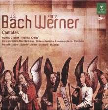 Johann Sebastian Bach (1685-1750): Fritz Werner dirigiert Bach-Kantaten, 20 CDs