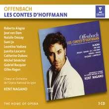 Jacques Offenbach (1819-1880): Les Contes D'Hoffmann, 3 CDs