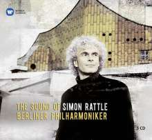 The Sound of Simon Rattle & Berliner Philharmoniker, 3 CDs