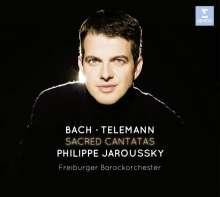 Philippe Jaroussky - Sacred Cantatas (Limitierte Deluxe-Ausgabe mit DVD), 2 CDs