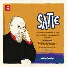 Erik Satie (1866-1925): Klavierwerke (180g), LP