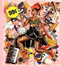 Santigold (ehem. Santogold): 99 Cents (Clear Vinyl), LP