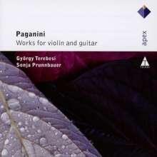 Niccolo Paganini (1782-1840): Werke für Violine & Gitarre, 2 CDs