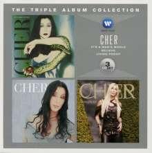 Cher: The Triple Album Collection, 3 CDs