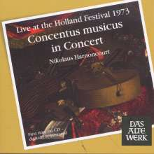 Concentus musicus in Concert - Live at the Holland Festival 1973, CD