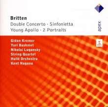 Benjamin Britten (1913-1976): Sinfonietta op.1, CD
