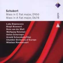 Franz Schubert (1797-1828): Messen D.678 & D.950, 2 CDs