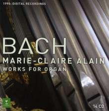 Johann Sebastian Bach (1685-1750): Orgelwerke, 14 CDs