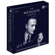 Yehudi Menuhin - Live Performances and Festival Recordings, 7 CDs
