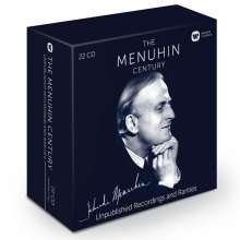 Yehudi Menuhin - Unpublished Recordings and Rarities, 22 CDs