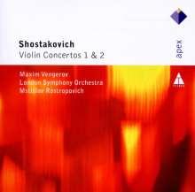 Dmitri Schostakowitsch (1906-1975): Violinkonzerte Nr.1 & 2, CD