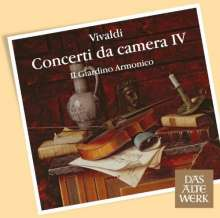 Antonio Vivaldi (1678-1741): Kammerkonzerte Vol.4, CD