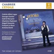 Emmanuel Chabrier (1841-1894): L'Etoile, 2 CDs