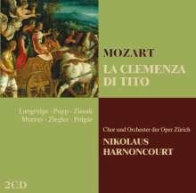 Wolfgang Amadeus Mozart (1756-1791): La Clemenza di Tito, 2 CDs