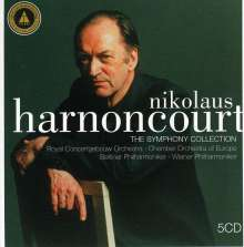 Nikolaus Harnoncourt - The Symphony Collection, 5 CDs