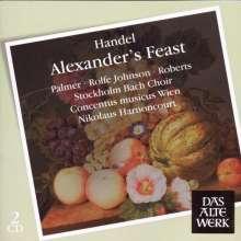 Georg Friedrich Händel (1685-1759): Alexander's Feast, 2 CDs