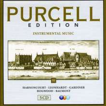 Henry Purcell (1659-1695): Purcell-Edition Vol.4 - Instrumentalmusik, 5 CDs