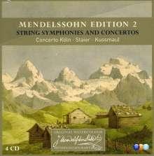 Felix Mendelssohn Bartholdy (1809-1847): Mendelssohn Edition Vol.2, 4 CDs