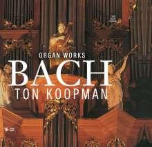 Johann Sebastian Bach (1685-1750): Orgelwerke, 16 CDs
