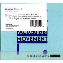 New Order: Movement (Collector's Edition), 2 CDs