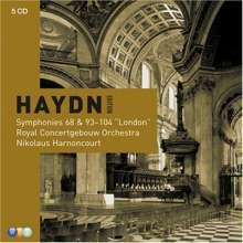 Joseph Haydn (1732-1809): Symphonien Nr.68, 93-104, 5 CDs